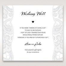 White White Dress - Wishing Well / Gift Registry - Wedding Stationery - 60