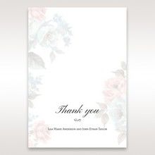 Blue Magical Flower Garden - Thank You Cards - Wedding Stationery - 57