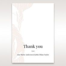 Orange Mystic Forest - Thank You Cards - Wedding Stationery - 40