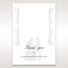 White Promise - Thank You Cards - Wedding Stationery - 63