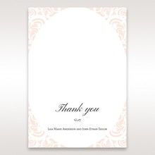 White Edge of Heaven - Thank You Cards - Wedding Stationery - 66