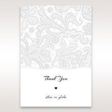 White White Dress - Thank You Cards - Wedding Stationery - 18