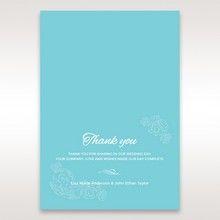Green Ocean Frame I Laser Cut - Thank You Cards - Wedding Stationery - 19