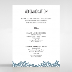 Forest Love accommodation invite card design