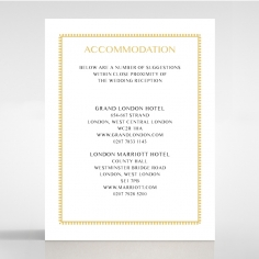 Ivory Doily Elegance wedding accommodation enclosure invite card design