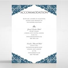 Royal Prestige accommodation invitation card design