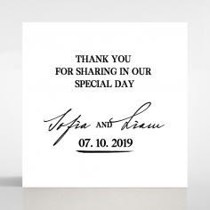 Paper Modern Romance wedding gift tag stationery