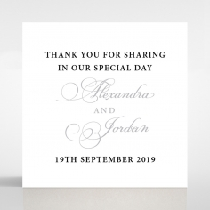 Royal Lace wedding stationery gift tag design