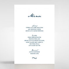 Eternal Simplicity menu card stationery item