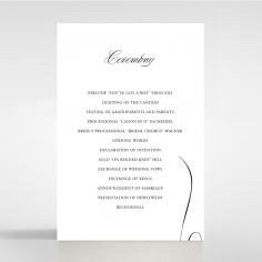 Paper Polished Affair wedding stationery order of service invitation card