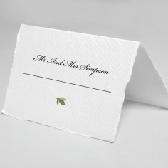 Beautiful Devotion wedding venue table place card