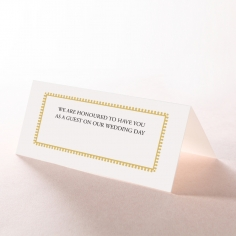 Blooming Charm place card