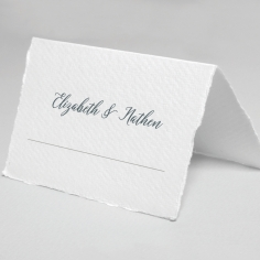 Castle Wedding table place card stationery design