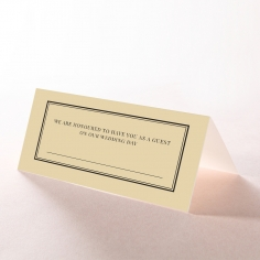 Damask Love place card stationery