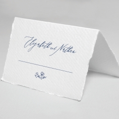 Enchanted garden wedding table place card