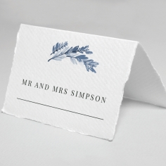 Indigo Round wedding stationery table place card item