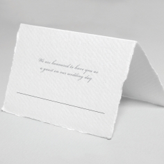 Modern Monogram table place card