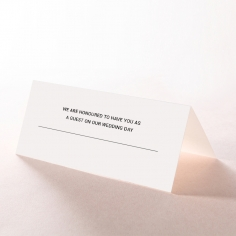 Paper Chic Rustic table place card stationery item