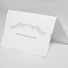 Romantic Soiree reception table place card