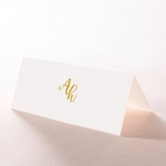 Rustic Lustre wedding place card stationery item