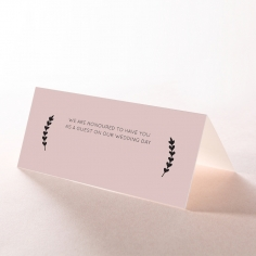 Sweet Romance place card stationery design