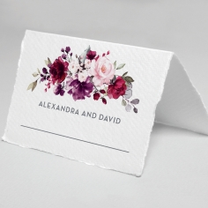 Their Fairy Tale wedding reception table place card stationery item