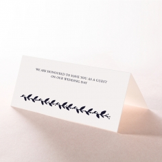 Unbroken Romance wedding venue table place card stationery item