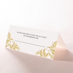 Victorian Extravagance reception place card