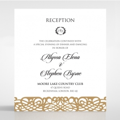 Enchanting Forest reception invite
