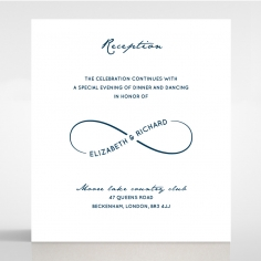 Eternal Simplicity reception card design