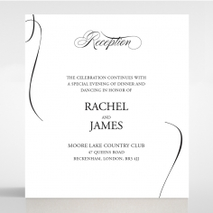 Paper Polished Affair reception enclosure stationery invite card design