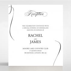 Paper Polished Affair reception enclosure stationery invite card design