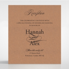 Precious Moments wedding stationery reception invite