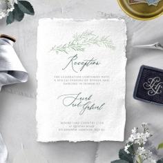 Simple Elegance wedding stationery reception invitation
