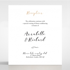 Written In The Stars wedding stationery reception enclosure card design