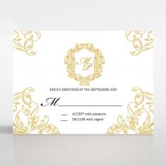 Aristocrat rsvp invite design