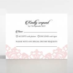 Baroque Pocket rsvp invite