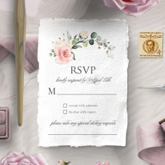 Garden Party rsvp invitation design