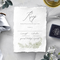 Love Estate rsvp card