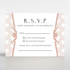 Luxe Victorian rsvp wedding enclosure design