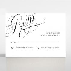 Paper Polished Affair rsvp enclosure card
