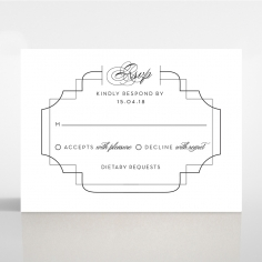 Paper Regal Enchantment rsvp invite