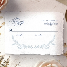 Romantic Soiree rsvp enclosure card