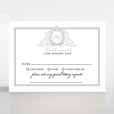 Royal Lace rsvp wedding enclosure invite design