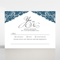 Royal Prestige rsvp invitation design