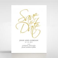Diamond Drapery save the date wedding stationery card item