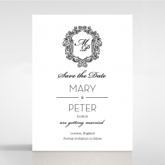 Paper Aristocrat save the date invitation stationery card item