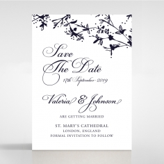 Secret Garden save the date wedding stationery card item