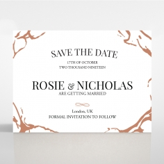 Stonework wedding save the date stationery card item