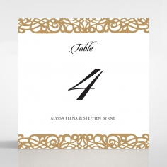 Enchanting Forest wedding venue table number card